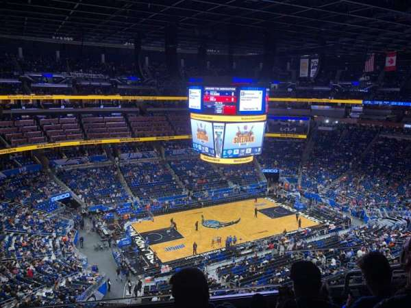 Amway Center, section: 212, row: 5, seat: 3