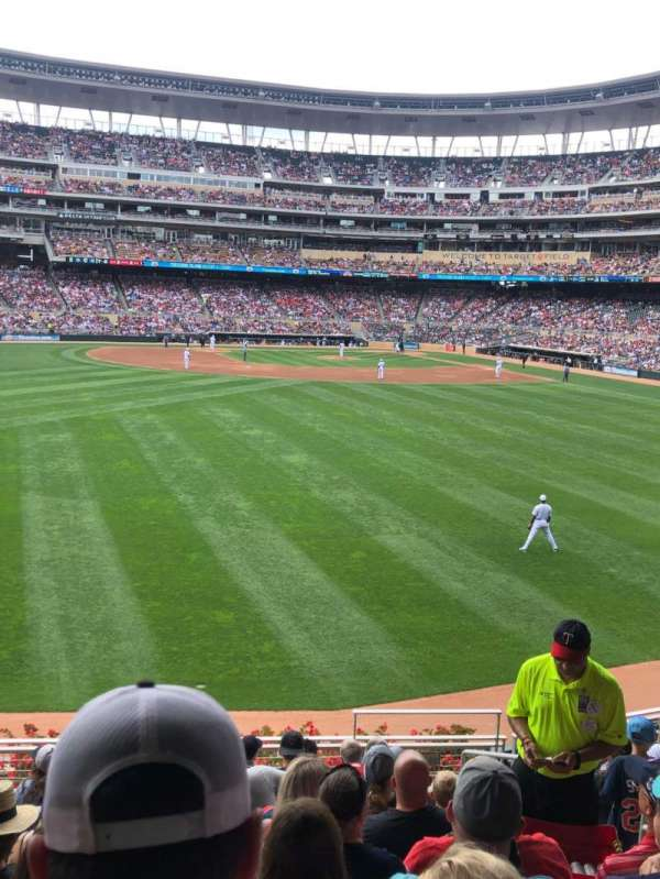 Target Field, section: 131, row: 10, seat: 5