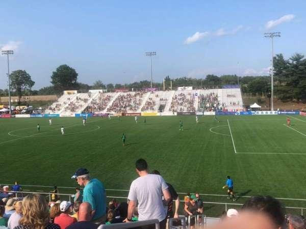 Dillon Stadium, section: 8, row: P, seat: 23