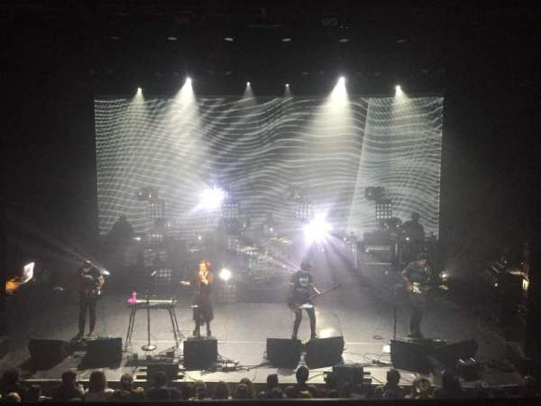 The Vic Theatre, section: MEZZ 200, row: A, seat: 201