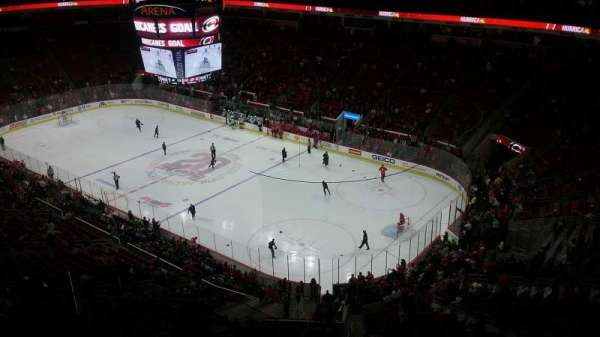 PNC Arena, section: 319, row: H, seat: 10
