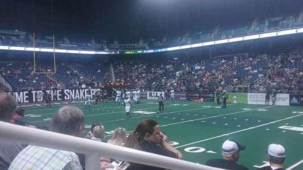 Greensboro Coliseum, section: 127, row: CC, seat: 14