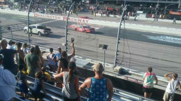 Darlington Raceway, section: Wallace I, row: 15, seat: 17