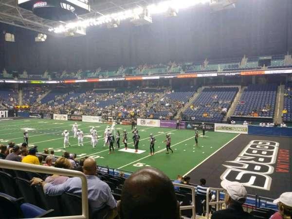 Greensboro Coliseum, section: 129, row: KK, seat: 12