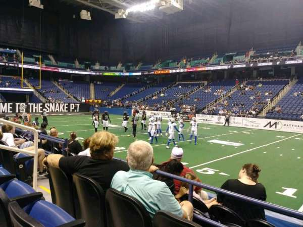 Greensboro Coliseum, section: 111, row: CC, seat: 6