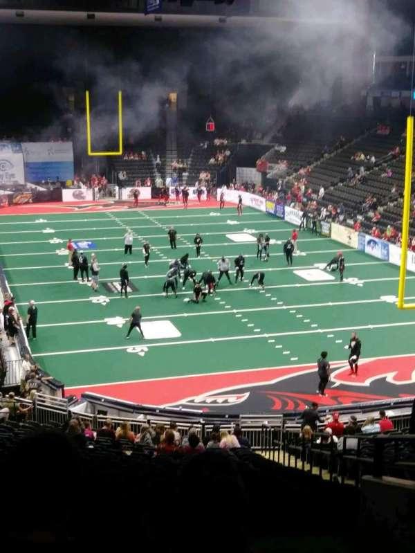 VyStar Veterans Memorial Arena, section: 110, row: FF, seat: 1