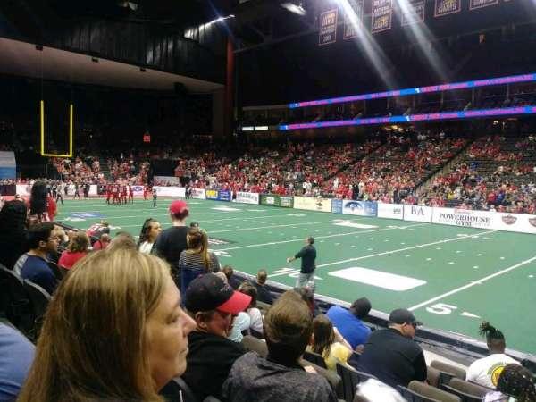 VyStar Veterans Memorial Arena, section: 108, row: G, seat: 4
