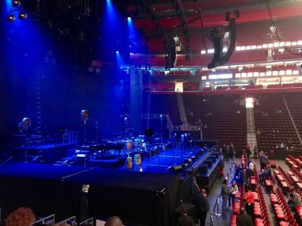 Little Caesars Arena, section: 125, row: 10, seat: 1