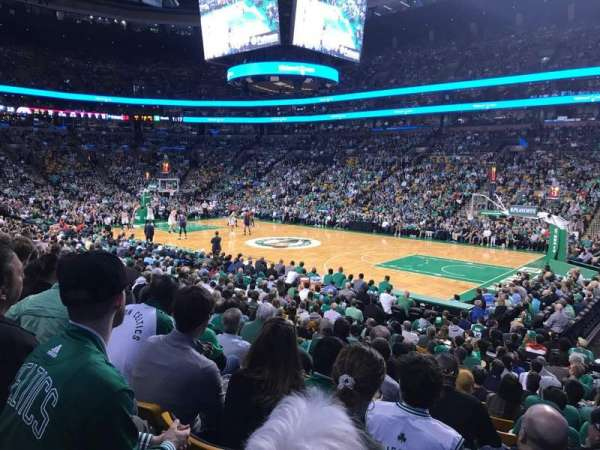 TD Garden, section: Loge 21, row: 14, seat: 3