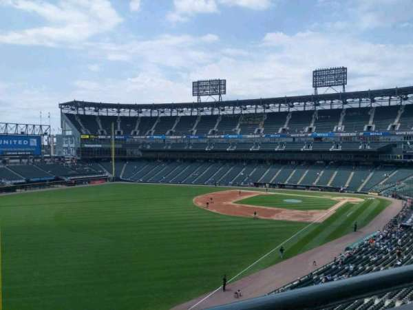 Guaranteed Rate Field, section: 354, row: 1, seat: 11