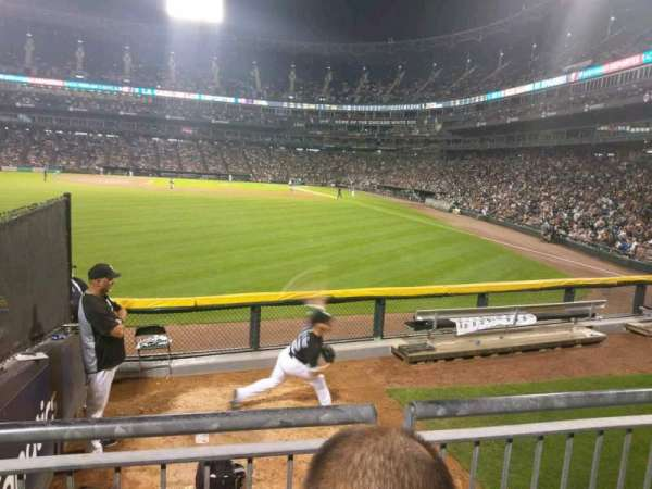 Guaranteed Rate Field, section: 158, row: 9, seat: 22