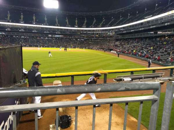 Guaranteed Rate Field, section: 158, row: 8, seat: 22