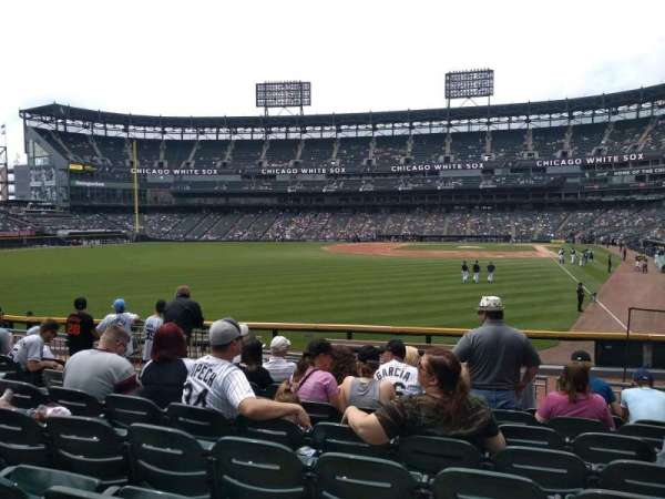 Guaranteed Rate Field, section: 157, row: 15, seat: 11
