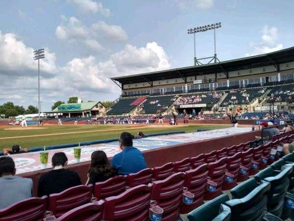 Whitaker Bank Ballpark, section: 110, row: 5, seat: 15