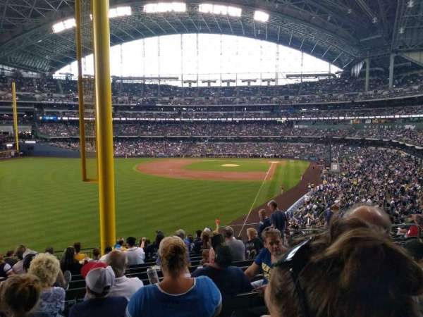 Miller Park, section: 233, row: 14, seat: 9