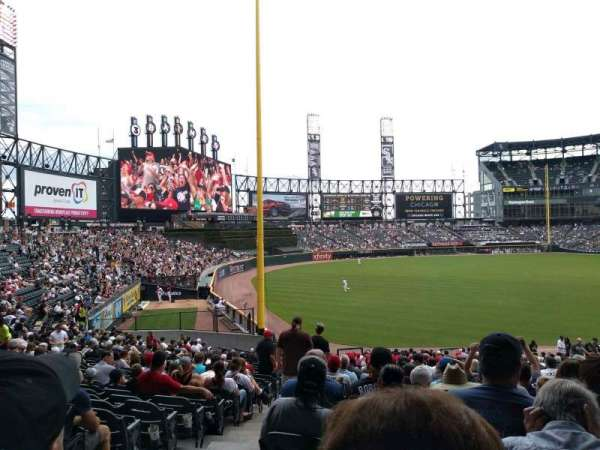 Guaranteed Rate Field, section: 153, row: 35, seat: 10