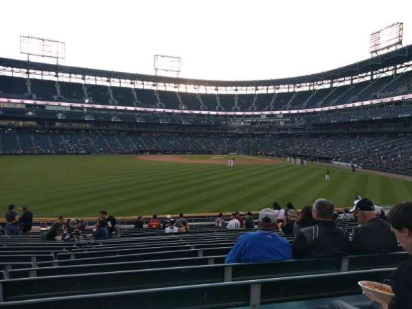 Guaranteed Rate Field, section: 161, row: 20, seat: 12