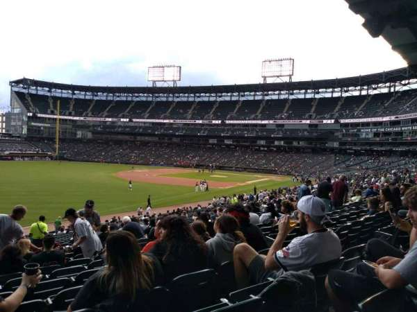 Guaranteed Rate Field, section: 152, row: 34, seat: 8