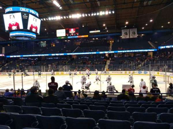 Allstate Arena, section: 109, row: H, seat: 17