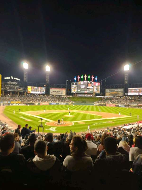 Guaranteed Rate Field, section: 131, row: 35, seat: 9