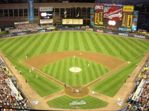 Shea Stadium, section: 2, row: G, seat: 4