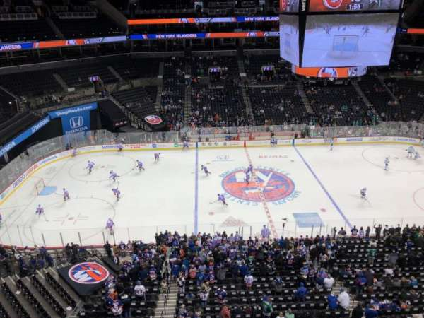Barclays Center, section: 226, row: 2, seat: 7