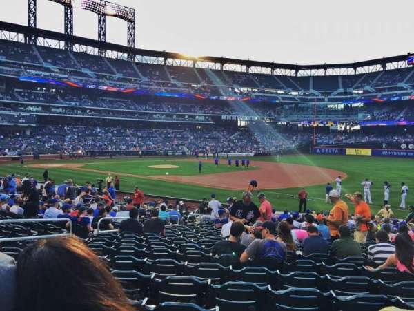 Citi Field, section: 110, row: 19, seat: 10