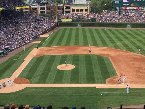 Wrigley Field, section: 429, row: 10, seat: 105
