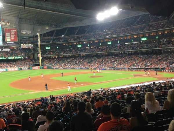 Minute Maid Park, section: 110, row: 39, seat: 7