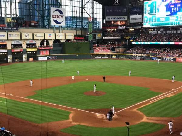 Minute Maid Park, section: 218, row: 5, seat: 12