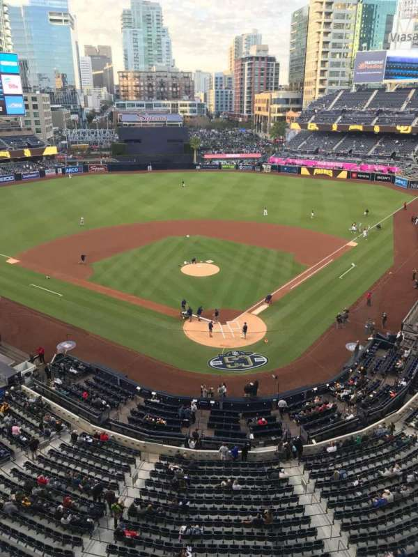 PETCO Park, section: 302, row: 3, seat: 7