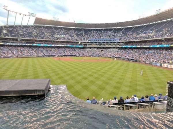 Kauffman Stadium, section: 202, row: A, seat: 1