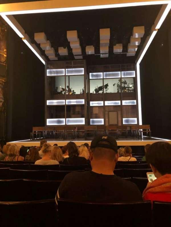 Apollo Theatre, section: Stalls, row: N, seat: 10