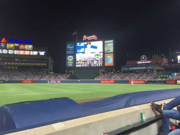 Turner Field, section: 17r, row: 2, seat: 2