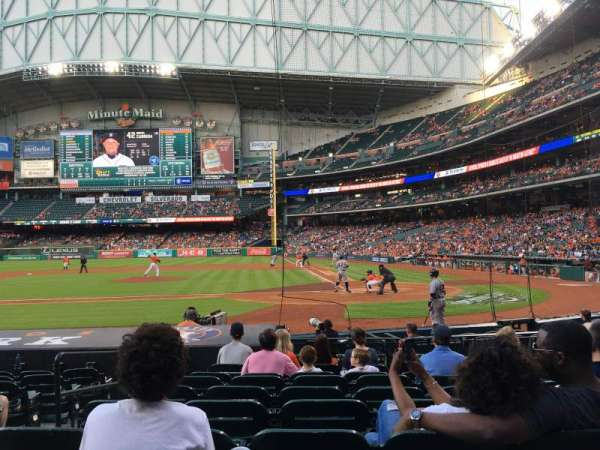 Minute Maid Park, section: 116, row: 13, seat: 3