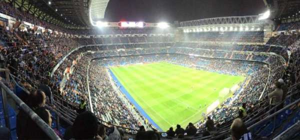 Santiago Bernabéu Stadium, section: 516, row: 8, seat: 21