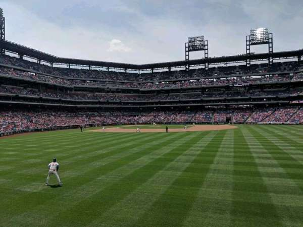 Citizens Bank Park, section: 103, row: 1, seat: 11
