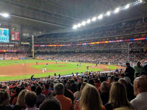 Minute Maid Park, section: 111, row: 34, seat: 8