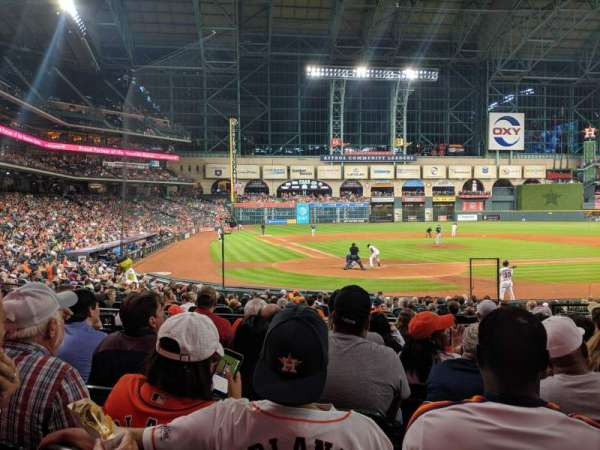 Minute Maid Park, section: 120, row: 20, seat: 18