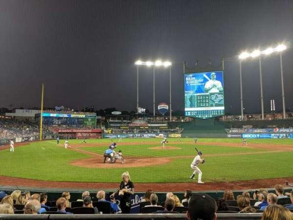 Kauffman Stadium, section: 129, row: C, seat: 5