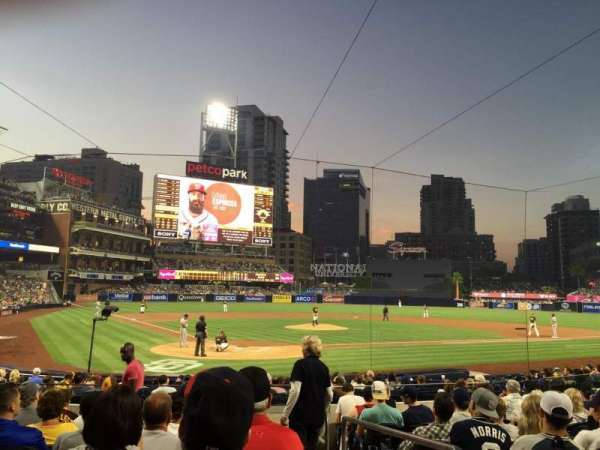 PETCO Park, section: 101, row: 18, seat: 21