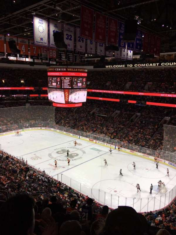 Wells Fargo Center, section: 204A, row: 7, seat: 5