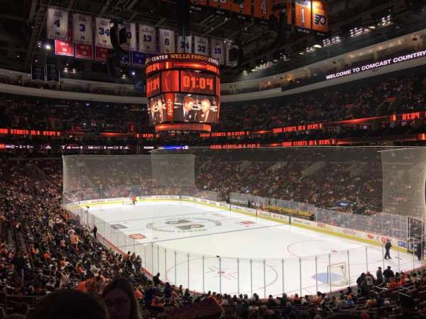 Wells Fargo Center, section: 117, row: 26, seat: 14