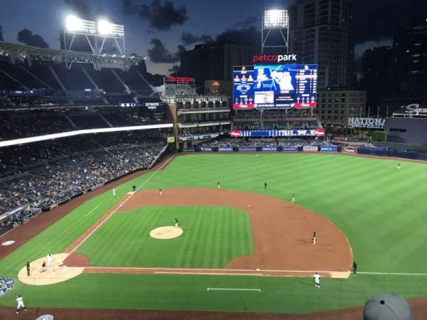PETCO Park, section: 309, row: 2, seat: 13