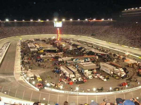 Bristol Motor Speedway, section: Kulwicki Grandstand M, row: 30, seat: