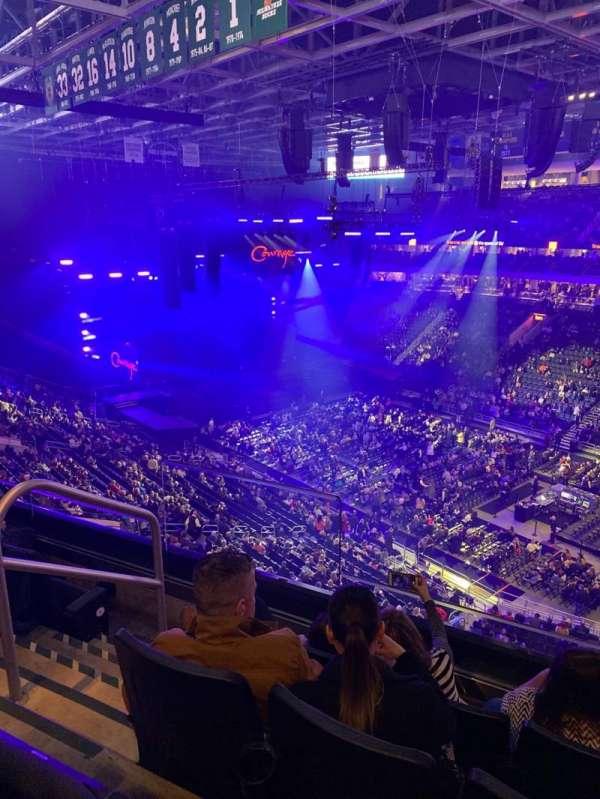 Fiserv Forum, section: 205, row: 4, seat: 11