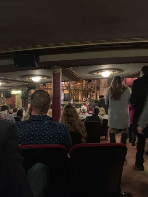 CIBC Theatre, section: Orchestra L, row: Z, seat: 5