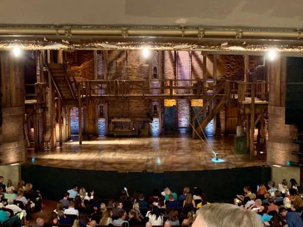 CIBC Theatre, section: DRCR - C, row: C, seat: 207