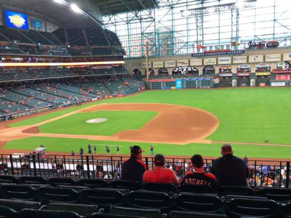 Minute Maid Park, section: 227, row: 5, seat: 11