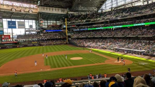 Miller Park, section: 224, row: 7, seat: 15